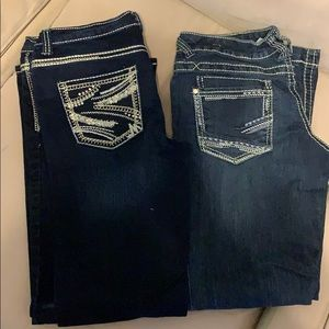 Bundle of 2 Maurice's jeans